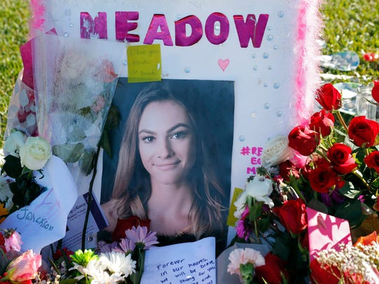 This Feb. 17, 2018 photo shows a photo of Meadow Pollack,