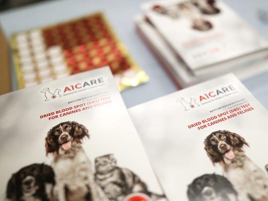 Baycom Diagnostics lab A1C diabetic testing kits for