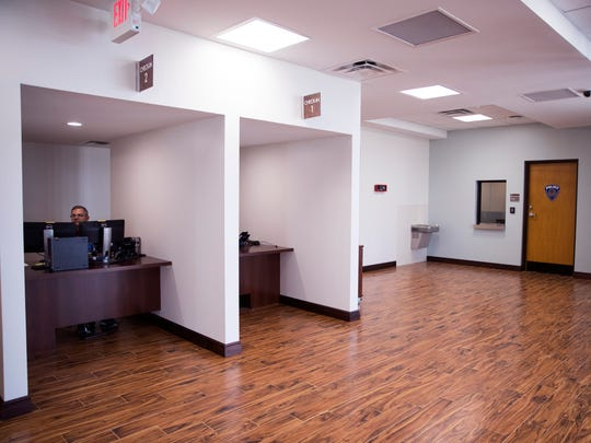 The VA outpatient clinic on Old Brownsville Road had extensive damage from Hurricane Harvey. It reopens Monday after being completely gutted and having a redesign. As part of the redesign, additional check-in areas for patients were added.
