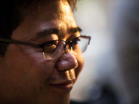 North Korean defector and activist Ji Seong-ho is the