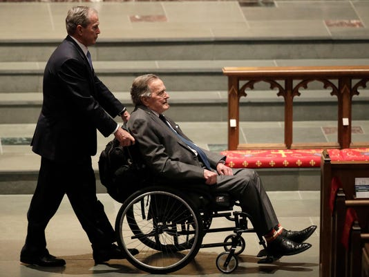 George H.W. Bush Hospitalized