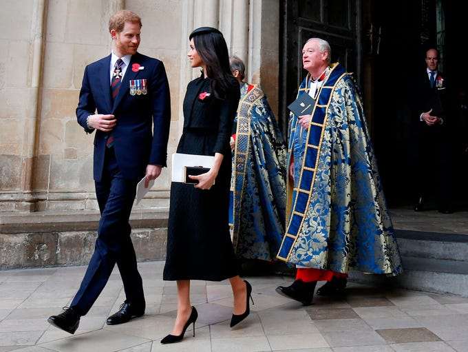 Prince Harry and Meghan Markle commemorated Anzac Day