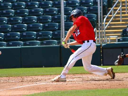 NFC's Carson Neal hits a 3-run home run to left in
