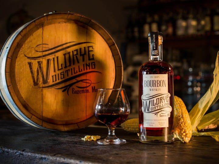 In Bozeman, Mont., Wildrye Distilling's Five Drops