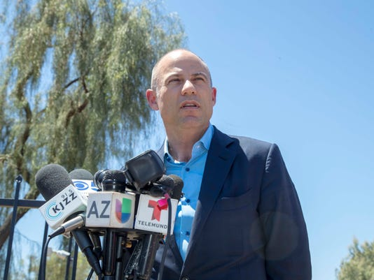Stormy Daniels' attorney Michael Avanetti representing immigrant children in Arizona