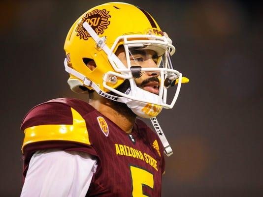 NCAA Football: San Diego State at Arizona State
