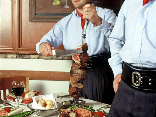 All the meat, all you can eat, served tableside. And it comes with unlimited servings of pork, chicken, salads, sides and desserts for just $39.95 per person at Fogo de Chao in Downtown Indianapolis during Devour Indy Winterfest 2018.