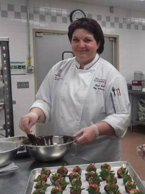 Mandi Scott was named by the American Culinary Federation Harrisburg Chapter as the 2015 pastry chef of the year.