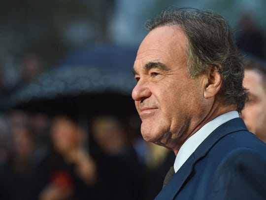 Oliver Stone, who interviewed Vladimir Putin for Showtime's