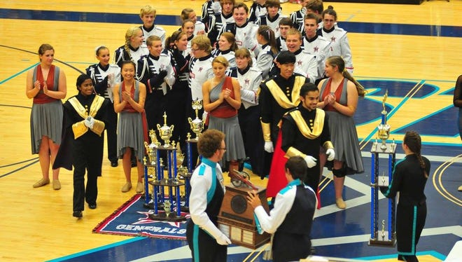 Bands will march away with honors and awards Saturday at Siegel High School.
