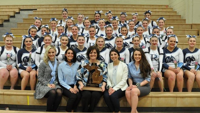 The Richmond High School cheer team won a regional title Saturday night in Flint.