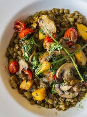 The French lentil soup at Garden Atrium, the new restaurant