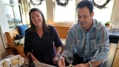Sam and Mariah Calagione run Dogfish Head Brewery in Milton. Sam has received his fourth James Beard nomination as one of the country's most Outstanding Wine, Beer, or Spirits Professionals.