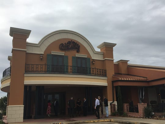 Copeland's celebrated its new look with a ribbon cutting