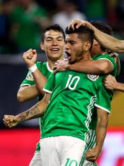 The Mexican national soccer team will play at Nissan