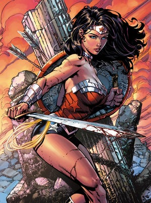 """Writer Meredith Finch and artist David Finch take over as the creative team of """"Wonder Woman"""" beginning with issue 36 in November."""