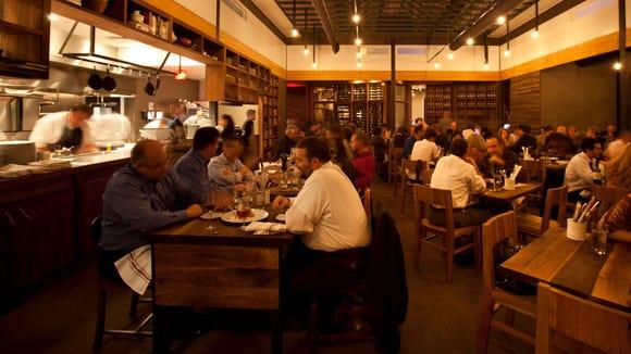Underbelly Main Dining Room