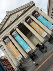 Gallier Hall during the 6th Annual New Orleans Entrepreneur Week