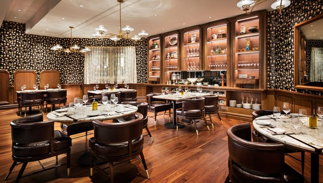 Michael Symon opened Angeline at the Borgata Hotel Casino & Spa in Atlantic City, N.J. on May 8. Named after his Sicilian mother, Angel, the restaurant will serve homestyle Italian food.