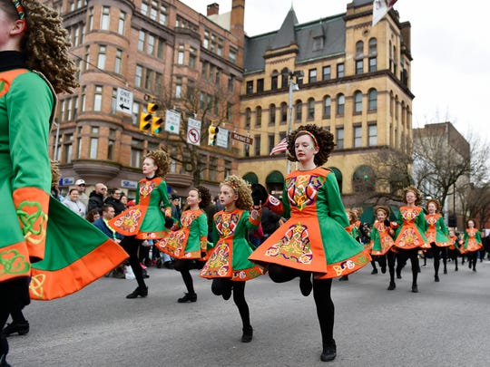 McGinley's School of Irish Dance students perform in