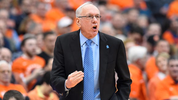 Coach Jim Boeheim's Syracuse team is 15-9 overall, 7-4 in the ACC and has seven games left, four on the road and three at home.