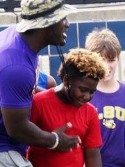 LSU standout and former North Webster linebacker Devin