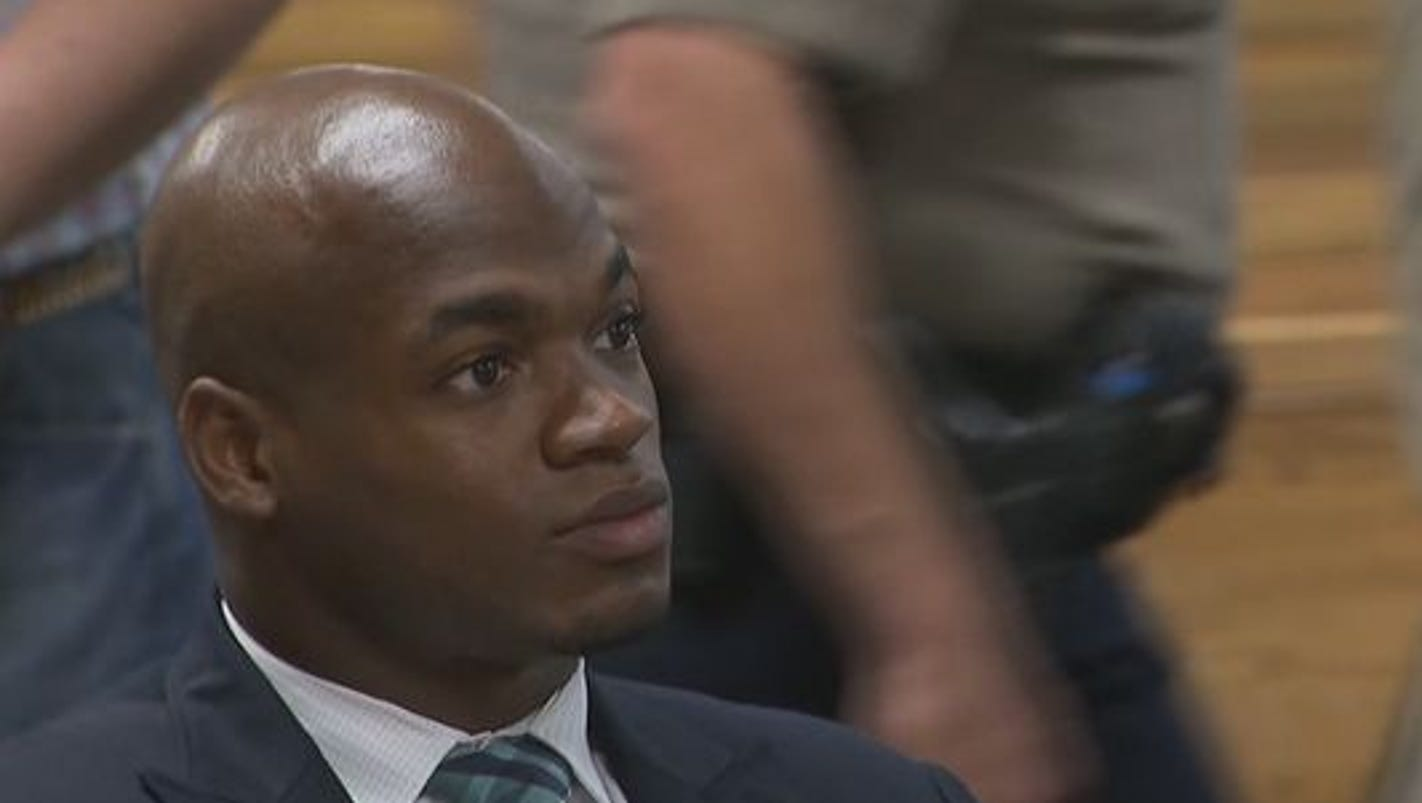 adrian peterson case Visit the post for more  breaking news you should be very encouraged by what you saw from adrian peterson vs the broncos.