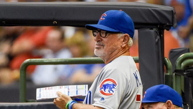 Chicago Cubs manager Joe Maddon has his team in prime position for a run at the World Series.