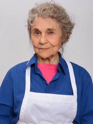 "Actress Lynn Cohen in character for her role as the grandmother in ""The Pickle Recipe,"" which is being filmed in metro Detroit."