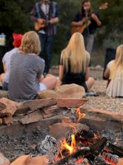 True to its name, the Campfire Concert in the Canyon