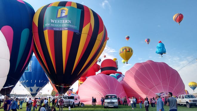 Western New Mexico University sponsored a balloon that took flight Saturday at the International Balloon Fiesta in Albuquerque. WNMU is a four-year university nestled in the hills of Silver City, New Mexico.
