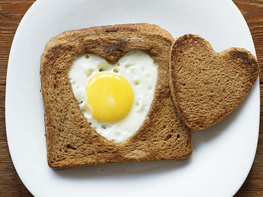 Eating cholesterol-rich foods like eggs, shrimp and