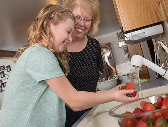 Include children in recipe choices, meal planning and