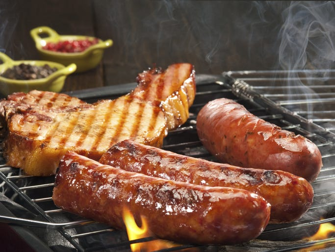 Il Terrazzo Salon is teaching dads and their kids how to grill and season their food.