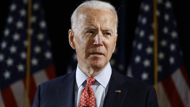 """Democratic presidential candidate Joe Biden said """"A Black man invented the light bulb, not a white guy named Edison."""" But PolitiFact rates that claim Mostly False."""