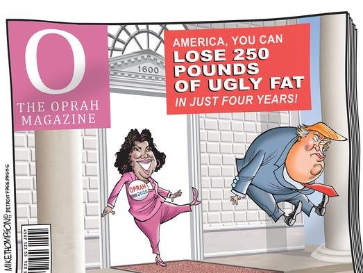 Could Oprah run for president?