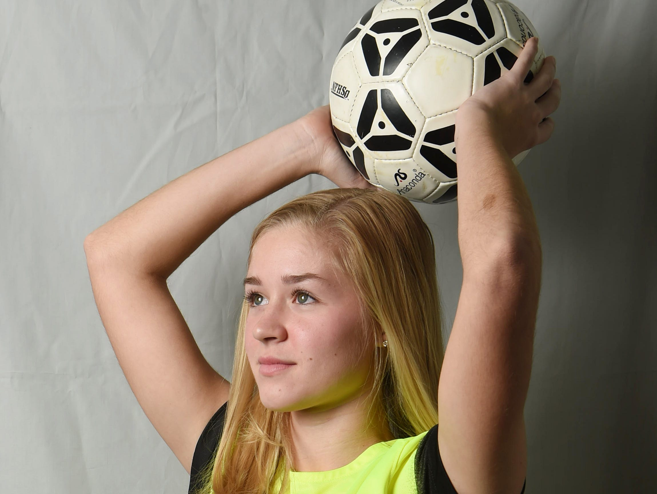 Alexandra Dunn from Rhinebeck High School is the girls soccer Defensive Player of the Year.