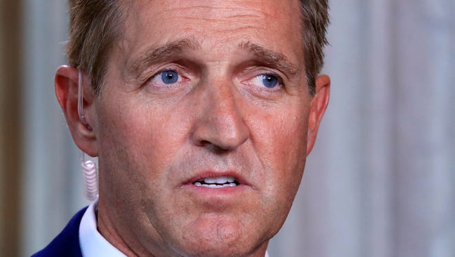 Sen. Jeff Flake's efforts to extend the DACA program for another three years, while also funding additional border security for three years, failed Tuesday.