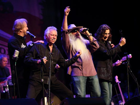 Duane Allen, Joe Bonsall, William Lee Golden, Richard Sterban, Oak Ridge Boys