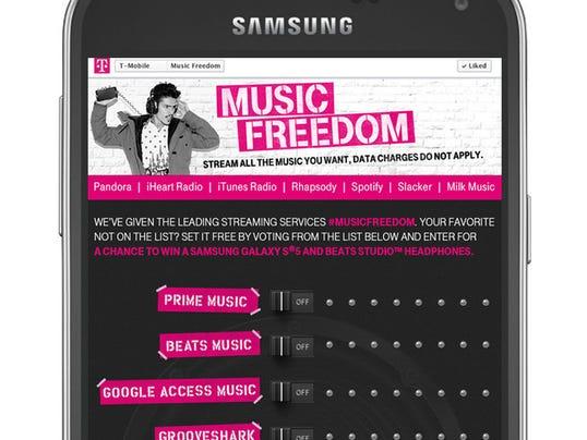 Music Freedom screenshot