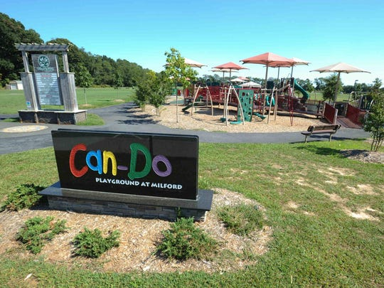 The Can-Do Playground in Milford, Del.
