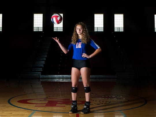All-South Texas Volleyball Newcomer of the Year Kandice Rowe