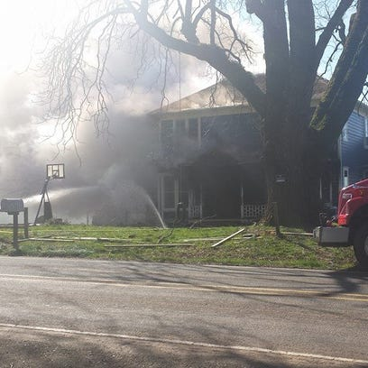 A Silverton home that was built in 1903 caught fire
