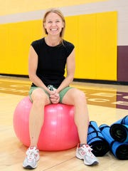 Instructor Jean-Elise Smith teaches Encore's Senior Fitness at the Bonnie Dallas Senior Center and San Juan College.