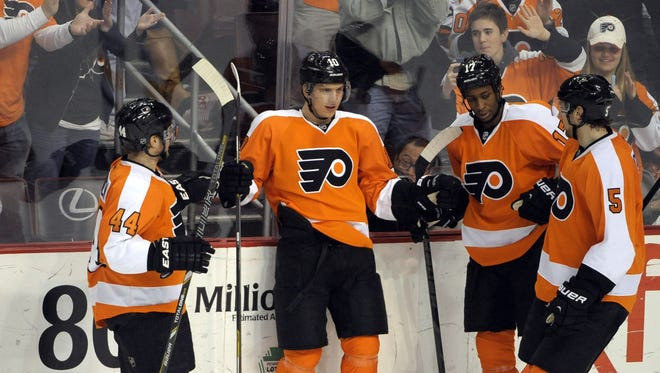 The Flyers can clinch a playoff spot Tuesday night with a win over the Florida Panthers.