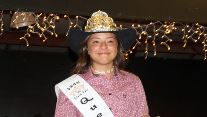 Hanna Mesa, 2016 Southwestern New Mexico State Fair Queen, will hand over her crown on Thursday, Oct. 5, to a new fair queen to reign over 2017.