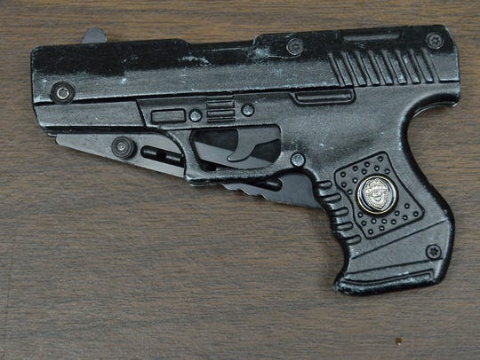 Yonkers police said this gravity knife, disguised as