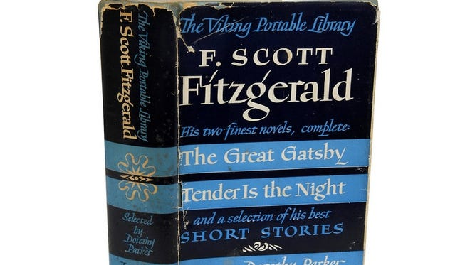 A vintage edition of 'The Great Gatsby' is on sale today at One Kings Lane.