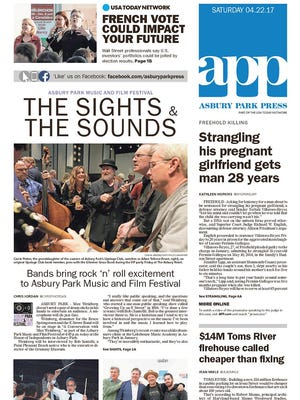 Asbury Park Press, Saturday, April 22, 2017