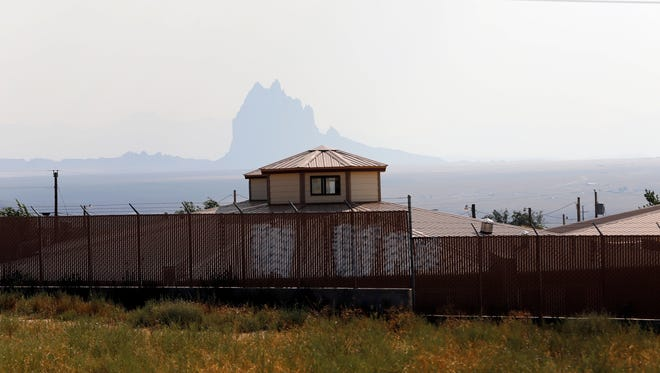 The Shiprock Home for Women and Children is pictured Aug. 20 in Shiprock.